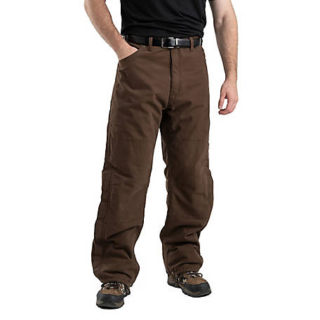 Berne Men's Washed Duck Insulated Outer Pants, P966