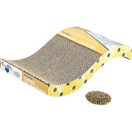 Our Pets Cosmic Wave Corrugated Scratcher for Cat, 0.5 oz., 4117039