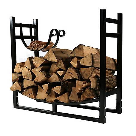 Sunnydaze Decor Indoor Outdoor Firewood, Outdoor Log Rack