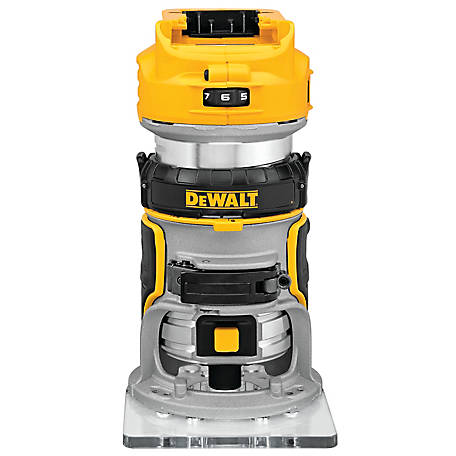 DeWALT 20V MAX Lithium-Ion Brushless Compact Router, Tool Only, DCW600B