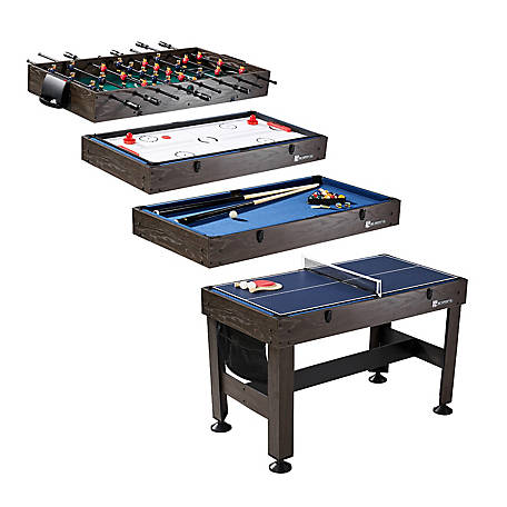 MD SPORTS 54 in. 4-in-1 Combo Game Table, CBF054_058M