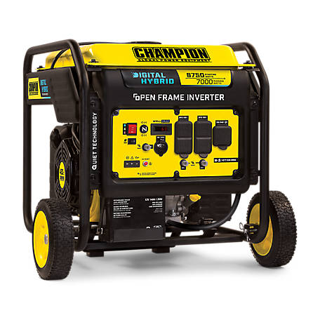 Champion Power Equipment 8750-Watt DH Series Open Frame Inverter with Electric Start, 100520