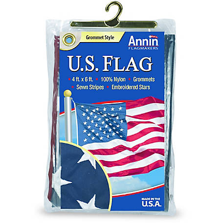 Buy American Flag 4ft x 6ft Nylon Flag by Valley Forge - FG-USA46N: Flags - sungrocentre.info ✓ FREE DELIVERY possible on eligible purchases.