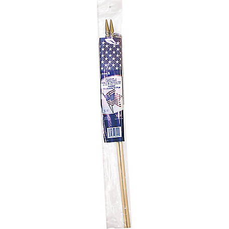 Annin 8 in. x 12 in. U.S. Flag, Pack of 2