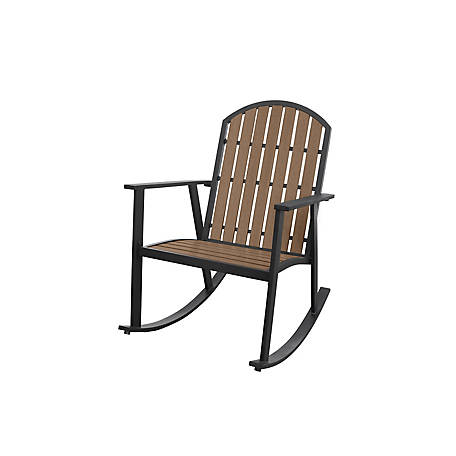 Apollo Outdoor Shoreline Everwood Rocking Chair Sr K 946 At Tractor Supply Co