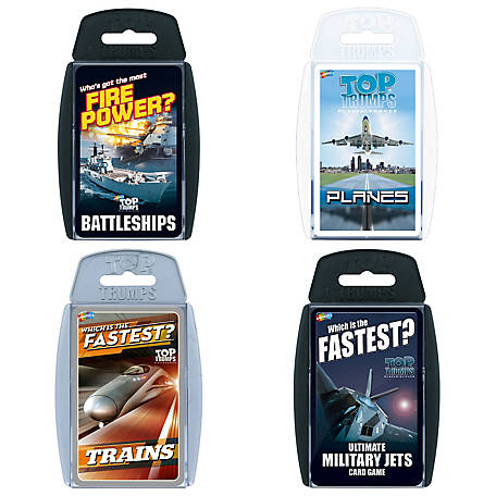 Top Trumps card game Military Jets