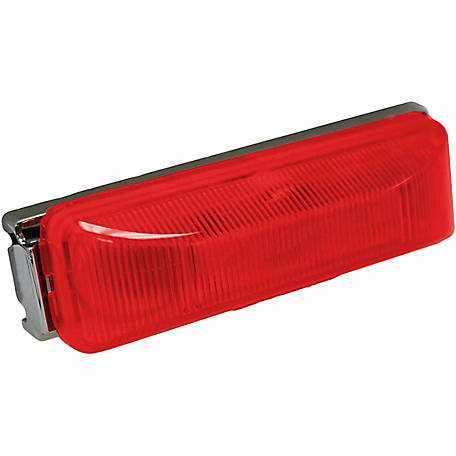 Blazer CW1531R LED 4 in. Sealed Running Board Light, Red