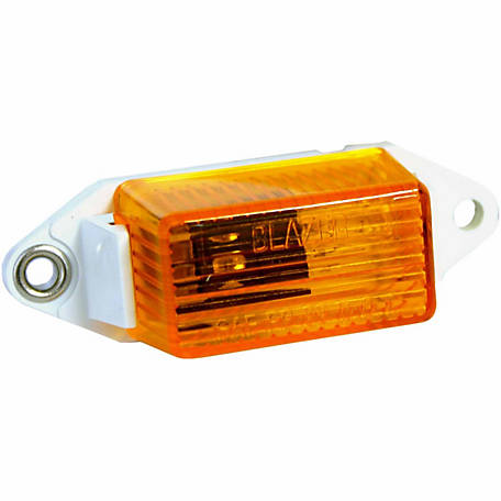 Blazer B486A Mini Side/Clearance Marker, Amber