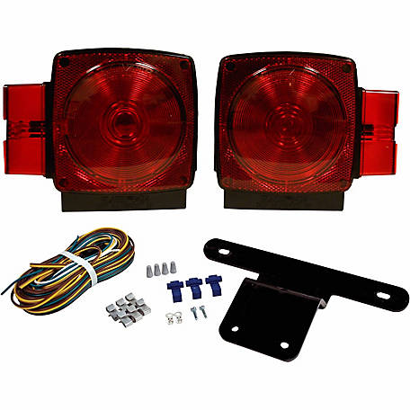Blazer C6424 Submersible Trailer Light Kit, Trailers Under 80 in. W