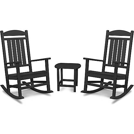 Weather Porch Rocking Chair Set, Outdoor Rocking Chairs Set Of 2