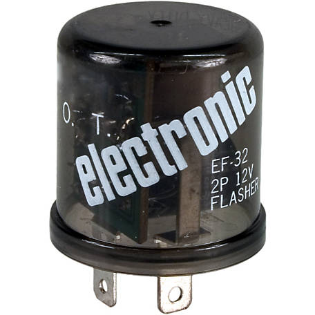 Blazer FL32 Electronic 12 Lamp, 2-Terminal  Flasher