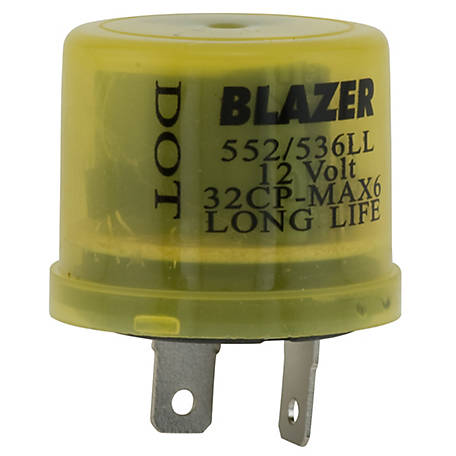 Blazer Electronic FL552/536 (Bi-Metal) Long Life Variable Load Flasher