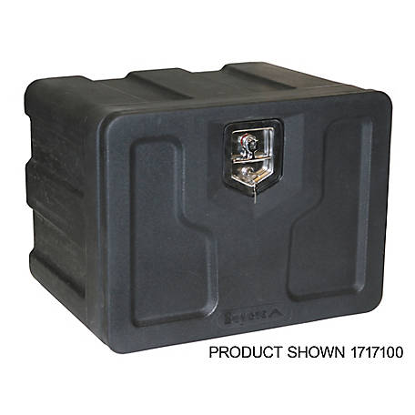Buyers Products 18 in. x 18 in. x 36 in. Black Poly Underbody Truck Box