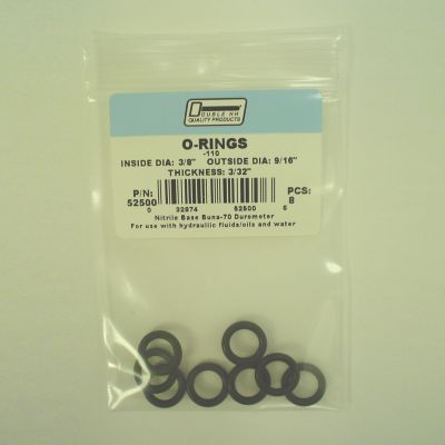 Double HH O-Ring; 3/8 x 9/16; Pack of 8