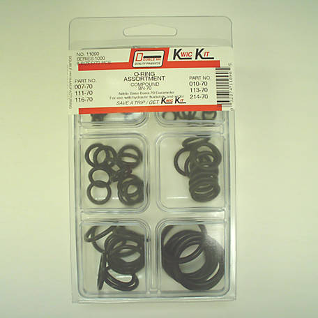 Double HH O-Ring Kit, 72 Piece