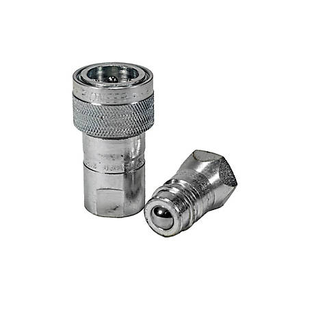 Pioneer Quick Coupling, 1/2 in. Single Acting Sleeve Set