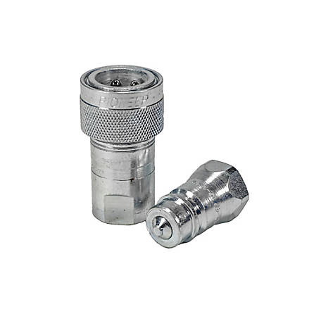 Pioneer Quick Coupling, Standard Series, 3/8 in. Single Acting Sleeve Set