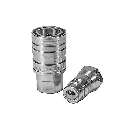 Pioneer Quick Coupling, 1/2 in. Double Acting Sleeve Set