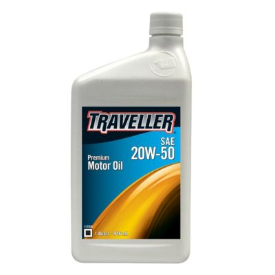 Buy Traveller Motor Oil 20W-50; 1 qt. Online