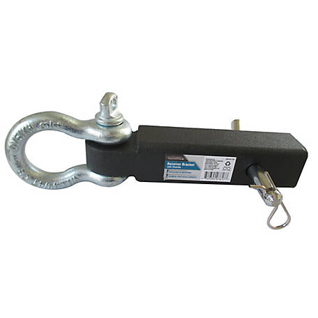 Traveller Receiver Bracket with Shackle, 10,000 lb. Capacity