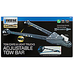 Reese Towpower Adjustable Tow Bar, Split Rail
