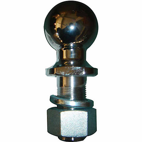 Tractor Supply Hitch Ball, 2-5/16 in. x 1-1/4 in. x 2-5/8 in., Chrome