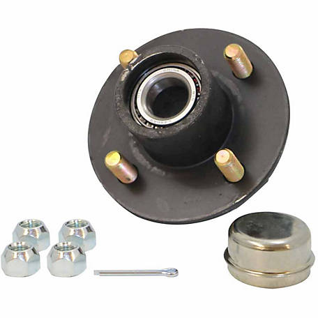 Carry-On Trailer Hub Assembly, 4 Bolt, 1,250 lb. Capacity