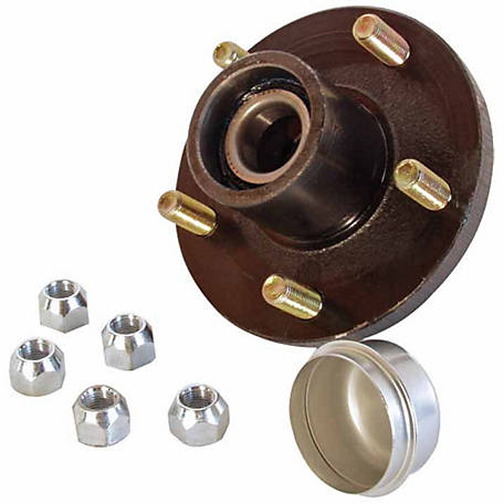 Carry-On Trailer Hub Assembly, 5 Bolt, 1,250 lb. Capacity