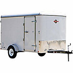 Carry-On Trailer 6 ft. x 12 ft. Enclosed Cargo Trailer