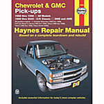 Haynes Repair Manual, Chevrolet & GMC Pickups (88-98) & C/K Classic (99-00)