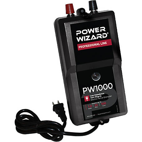 Power Wizard Electric Fence Controller, PW1000