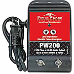 Power Wizard Electric Fence Controller, PW200D