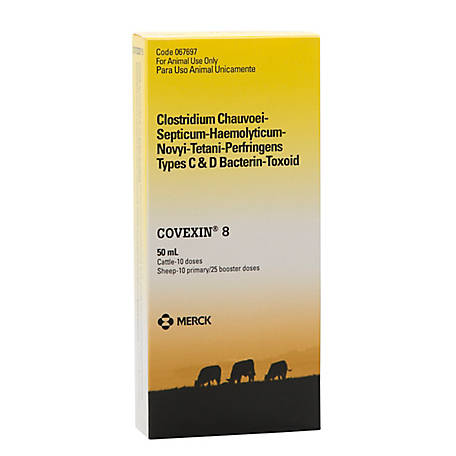 Merck Animal Health Covexin 8, 10 Doses