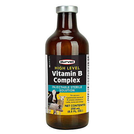 Durvet High Level Vitamin B Complex, 250 mL