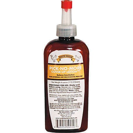 Rooster Booster Pick-No-More Cover-Up Lotion, 4 oz.