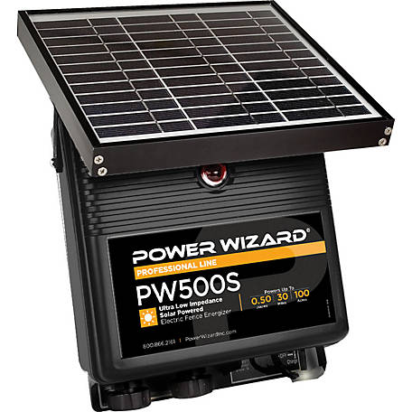 Power Wizard Electric Fence Controller, PW500S