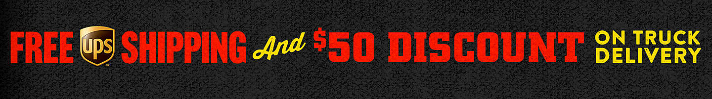 $50 Off Truck Delivery