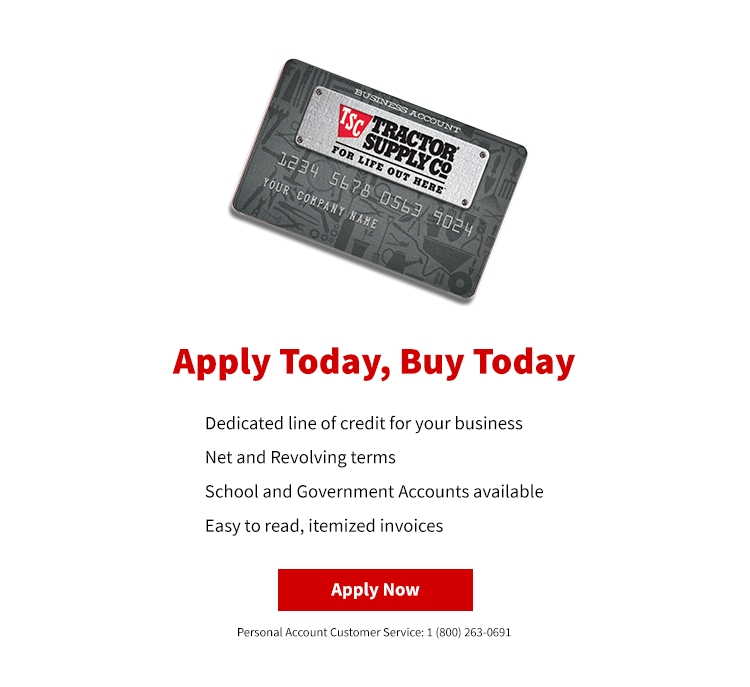 Financing - Tractor Supply Co.