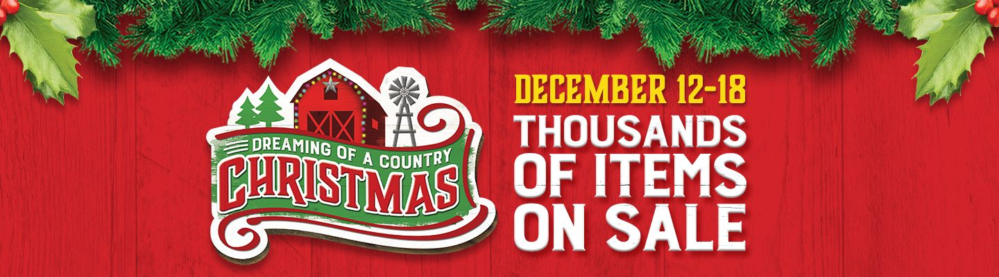 Christmas Sale - Tractor Supply Co.