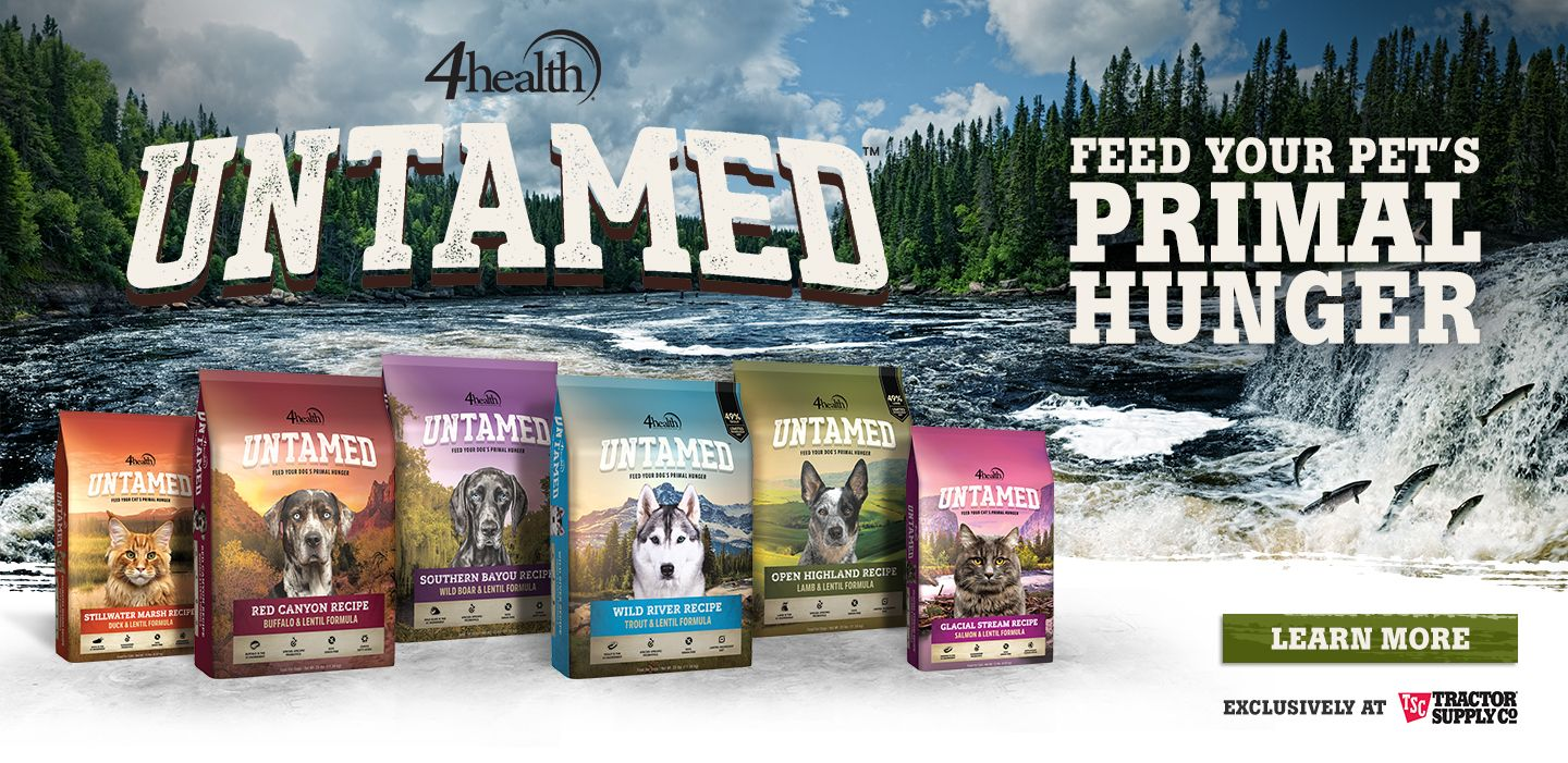 Feed your pet's primal hunger with Untamed Pet Food from 4health