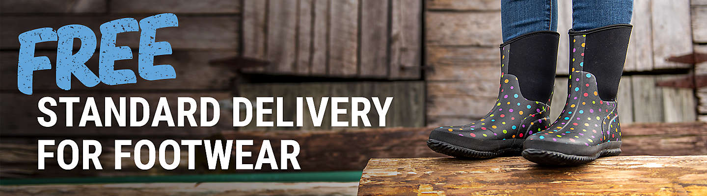 Free Standard Delivery on All Apparel and Footwear - Tractor Supply Co.