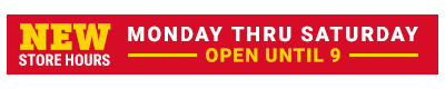 New Store Hours - Tractor Supply Co.