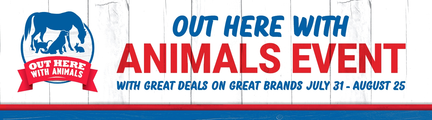 Out Here With Animals - Tractor Supply Co.