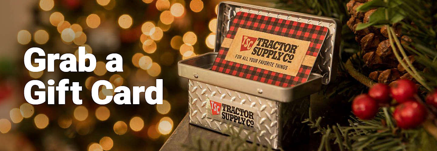 Tractor Supply Gift Cards