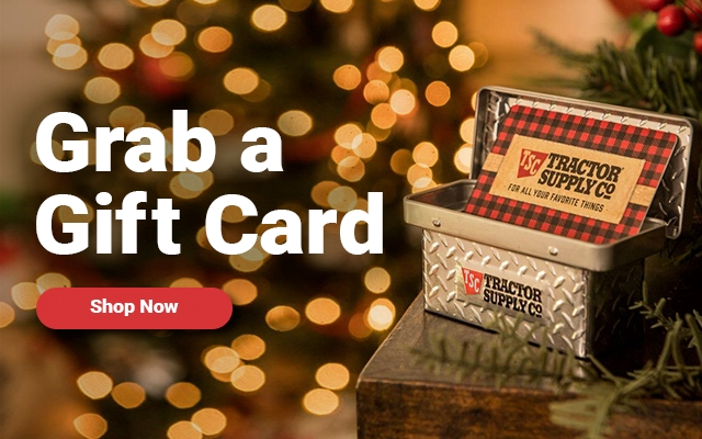 Gift Card - Tractor Supply Co.