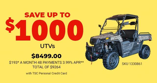 UTV - Tractor Supply Co.