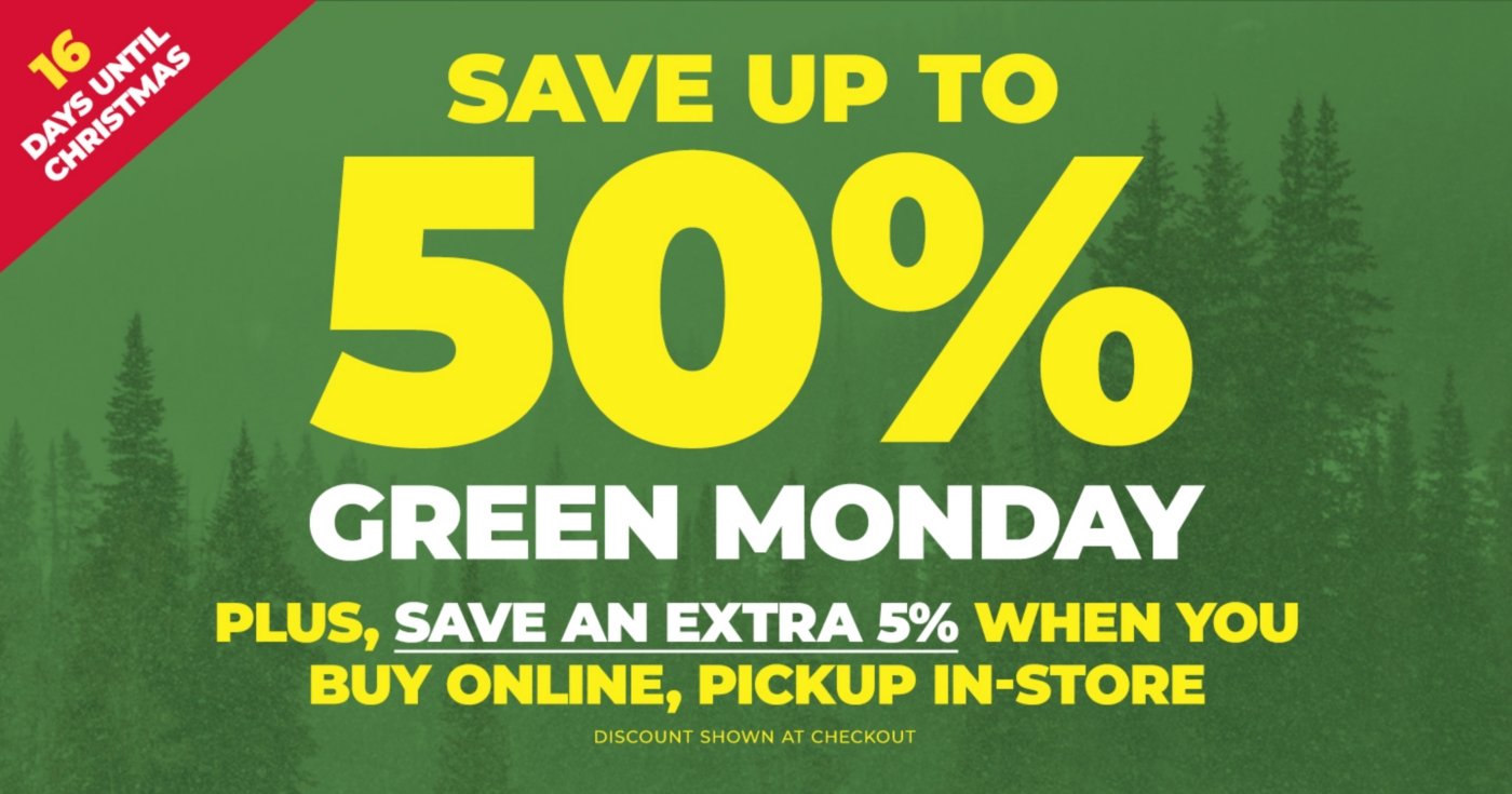 Green Monday - Tractor Supply Co.
