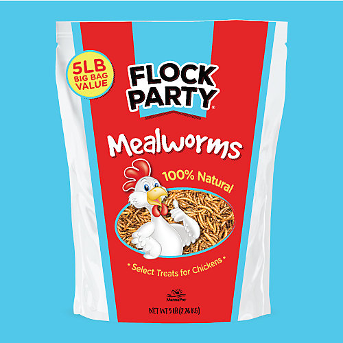 Flock Party 5LB. Mealworms - Tractor Supply Co.