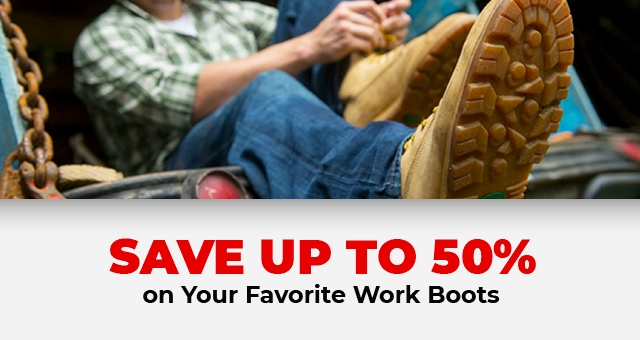 The Work Boot Sale - Tractor Supply Co.