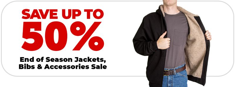 End of Season Jackets, Bibs & Accessories Sale - Tractor Supply Co.